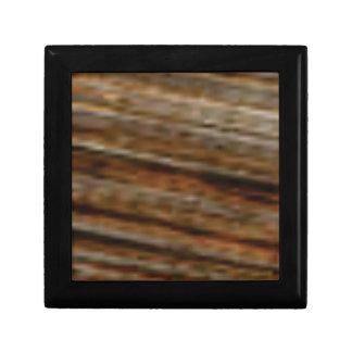 lignes obliques de bois de charpente boîte à souvenirs