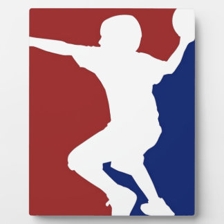 Ligue de Dodgeball Plaque Photo