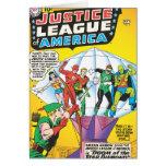 Ligue de justice de la question #4 de l'Amérique - Carte