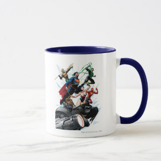 Ligue de justice - groupe 1 mug