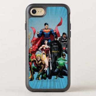 Ligue de justice - groupe 2 coque otterbox symmetry pour iPhone 7
