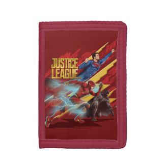 Ligue de justice | Superman, éclair, et insigne de