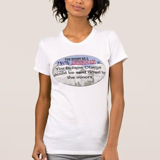 Ligue Mineure d'Obamas T-shirt