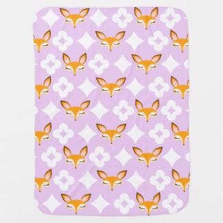 Lil Foxie - couverture Girly mignonne de bébé de Couverture De Bébé