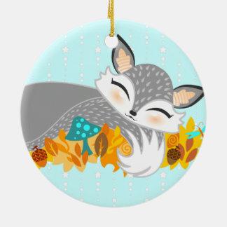 Lil Foxie CUB - ornement fait sur commande mignon
