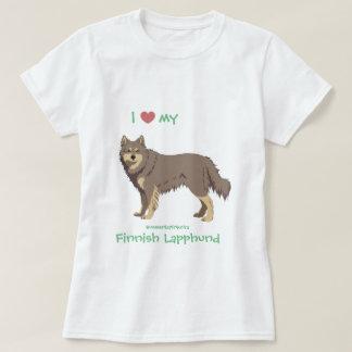 lilac finlandais Lapphund shirt - lapinkoira T-shirt