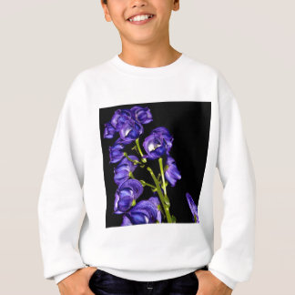 Lilas floraisons foncés sweatshirt