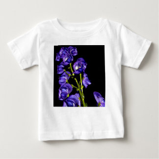 Lilas floraisons foncés t-shirt pour bébé