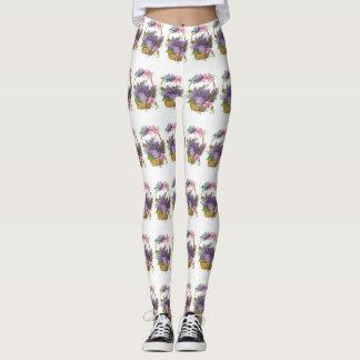Lilas vintages leggings