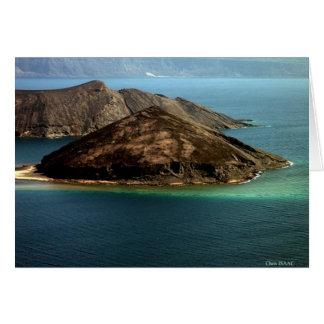 L'île du diable carte de vœux