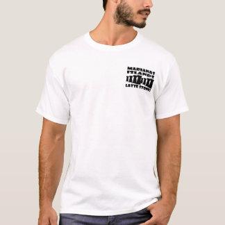 L'île Latte des Marianne lapide le T-shirt