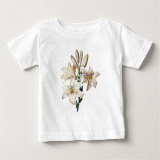 Lilium candidum ou lis de Madonna par Redoute T-shirts