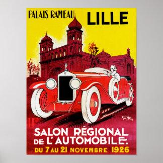 ~ Lille de Salon Regional De L'Automobile Posters
