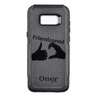 L'illustration Friendzoned remet la forme Coque Samsung Galaxy S8+ Par OtterBox Commuter