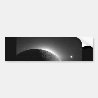 L'image magnifique de la NASA, la lune s'est Autocollant De Voiture