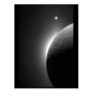 L'image magnifique de la NASA, la lune s'est Cartes Postales