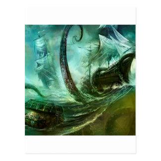 L'imaginaire abstrait pirate le trésor de carte postale