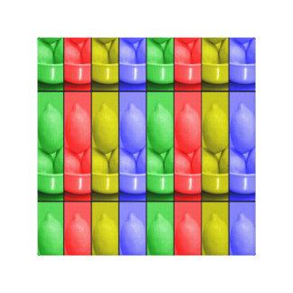 """Limonade color's12"""" X12"""", 1,5"""", simple Toile"""
