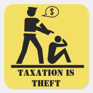 L'imposition est autocollant de vol