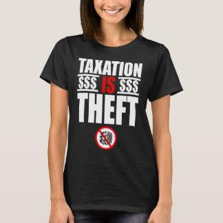 L'IMPOSITION EST le T-shirt des femmes de VOL