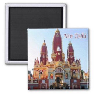 - L'Inde - au New Delhi - le temple de Magnet Carré