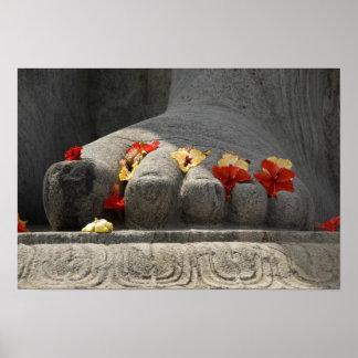 L'Inde, Mangalore, Karkala. Religion de Jains Affiche