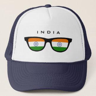 L'Inde ombrage le casquette fait sur commande