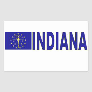 L'Indiana Sticker En Rectangle