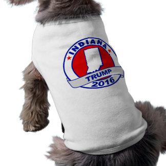 l'Indiana Donald Trump 2016.png T-shirt Pour Chien