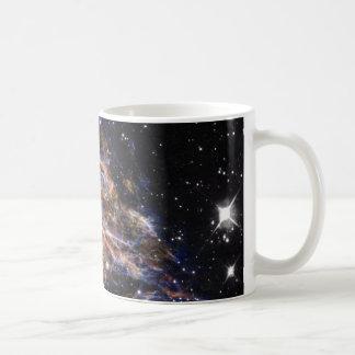 L'indigo a affilé le nuage stellaire de débris mug