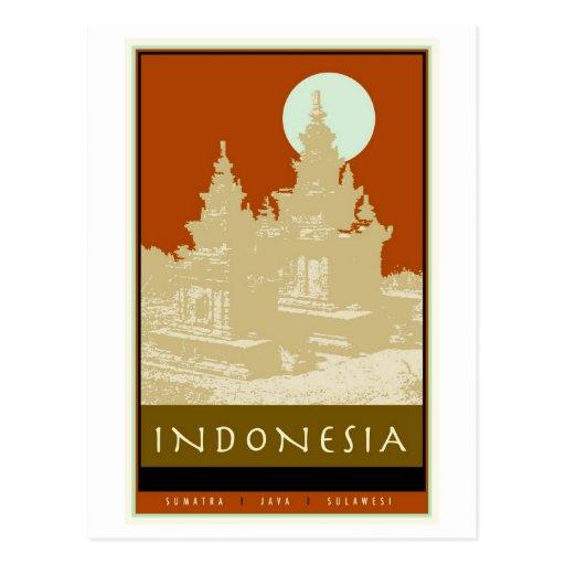 L'Indonésie Carte Postale