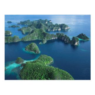 L'Indonésie, Papouasie occidentale. Antenne de Cartes Postales