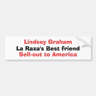 Lindsey Graham, le meilleur ami de Raza de La, liq Autocollant Pour Voiture