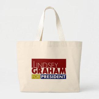 Lindsey Graham pour le Président V1 Grand Sac