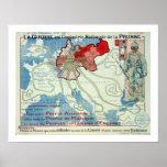 l'Industrie Nationale de la Prusse d'est de Guerre Poster