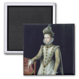 L'Infanta Isabel Clara Eugenie 1579 Magnet Carré