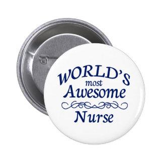 L'infirmière la plus impressionnante du monde badges