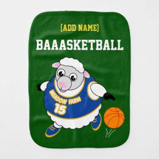 Linge De Bébé Bande dessinée d'amusement d'un mouton ruisselant