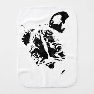 Linge De Bébé Bavoir à rot - Design FrenchBulldog