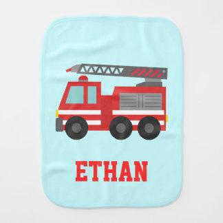 Linge De Bébé Camion de pompiers rouge mignon pour de petits