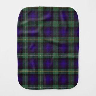 Linge De Bébé Campbell de tartan d'écossais de plaid de clan