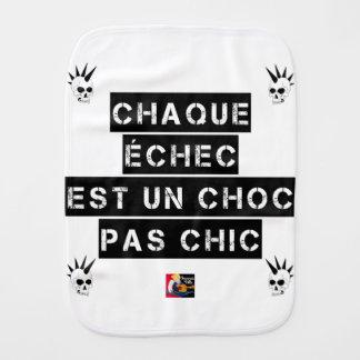 Linge De Bébé CHAQUE ÉCHEC est un CHOC pas CHIC