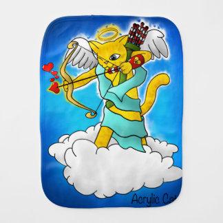 Linge De Bébé Chat de cupidon de jaune de gingembre de