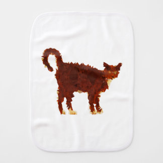 Linge De Bébé Chat Red Cat Low Poly