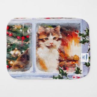 Linge De Bébé Chaton de Noël