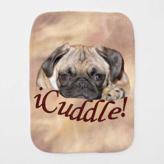 Linge De Bébé Chiot adorable de carlin d'iCuddle
