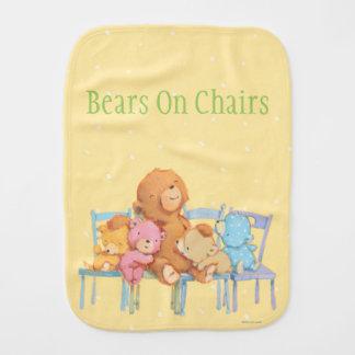 Linge De Bébé Cinq câlins et colorés concerne des chaises