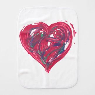 Linge De Bébé Coeur rouge -
