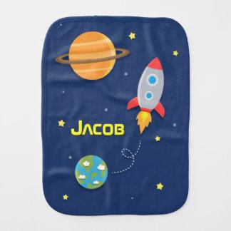 Linge De Bébé Coloré, bateau de Rocket d'espace, pour des bébés