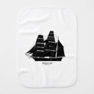 Linge De Bébé conception de noir de bateau de pequod